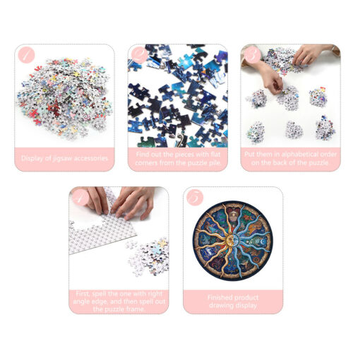 1000pcs DIY Twelve Constellations Puzzle Educational Learning Jigsaw Toys SS6