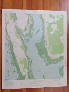 Details about Pine Island Center Florida 1959 Original Vintage USGS Topo Map