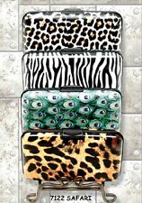 (one) Armored 4.5 X 3 Inch Wallet Featuring Safari, NEW and MINT!