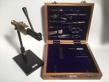 Rotary Fly tying vice and 14 tools . Fly tying kit, Fly Tying Materials