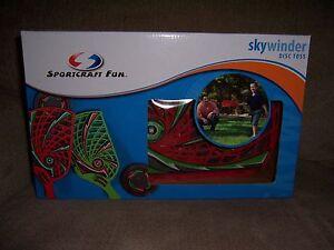 Sportcraft Fun Skywinder Disc Toss Outdoor Game Sports Toy