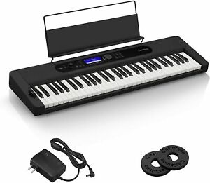 New Casio Electronic Keyboard Casiotone CT-S400 (Black) 61 Keyboard From Japan