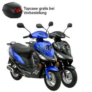 GMX550 Mokick 50cc Roller Kleinkraftrad Motorroller 4T Scooter Cityroller Euro 4