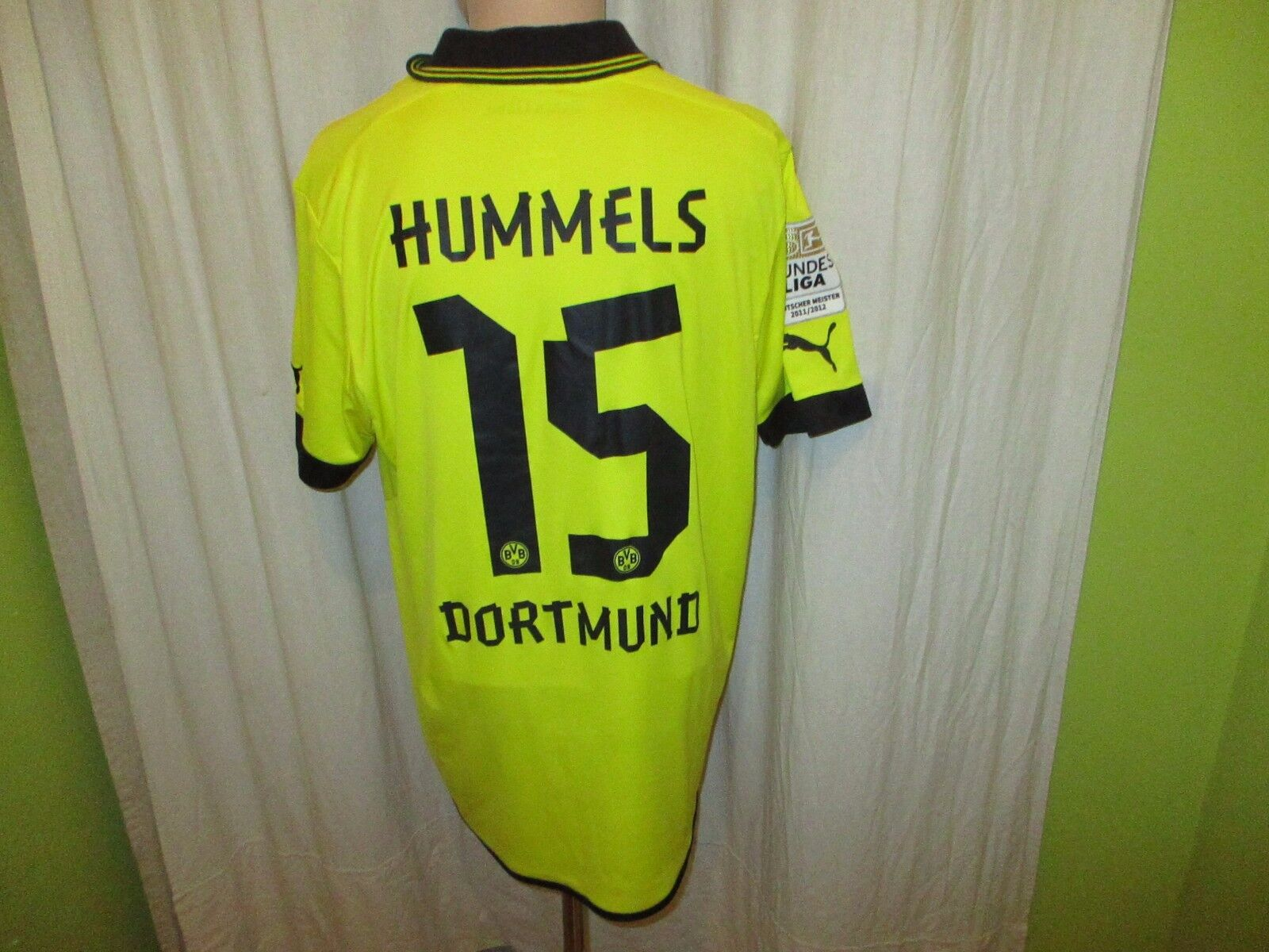 Borussia Dortmund Puma Heim + Trikot 2012/13