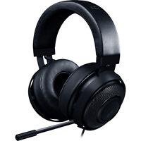 Razer Kraken Pro V2 On-Ear 3.5mm Wired Gaming Headphones (Black)