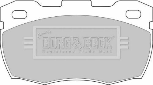 BORG BBP1571 BRAKE PAD SET DISC BRAKE Front