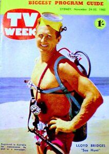 TV-Guide-1960-Sea-Hunt-Lloyd-Bridges-Clint-Eastwood-International-NM-M-COA-RARE