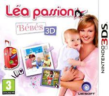 LEA PASSION BEBES 3D  JEU 3DS NEUF