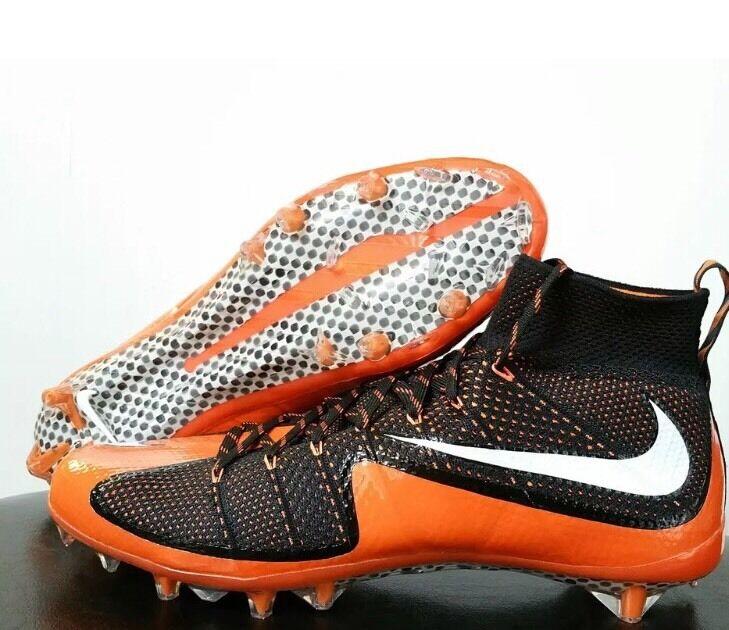 Nike Vapor Untouchable PF TD Football Cleats Cincinnati Bengals Black Orange 15