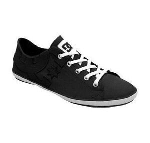 ecac159b13 DC - CLEO Womens Shoes (NEW) Sizes 6-11 ladies girls BLACK & WHITE ...