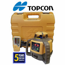 Topcon Rl H5a Auto Laser Level Alkaline Battery With Case Rod Clamp Amp Detector
