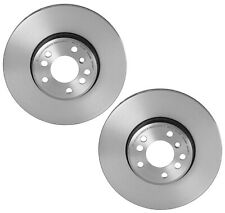 For BMW E53 X5 3.0i 4.4i Pair Set 2 Front Brake Disc Rotors Vented Coated Brembo