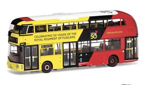 Corgi Wrightbus New Routemaster Go-Ahead London Route 15 Stepney, Royal Regiment