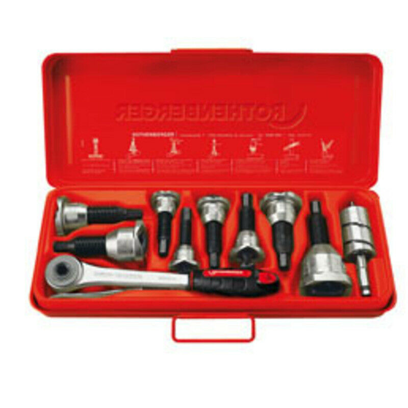 Rothenberger TEE-EXTRACTOR set, 15-22-28mm 22127