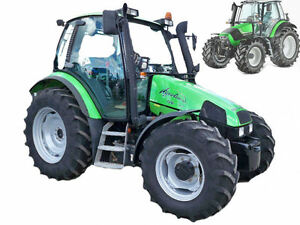 Deutz Agrotron 80 MK3 85 MK3 90 MK3 100 MK3 105 MK3 Service Manual on
