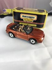 Matchbox 1995 Ford Mustang SVT Cobra Real Riders