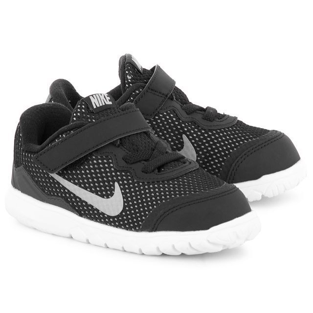 size 40 2bc57 80d1c Nike Flex Experience 4 TDV Toddler Kids Youth Black Metallic Grey White  Shoes 6c for sale online   eBay