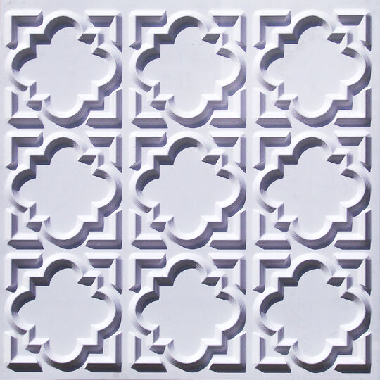 #217 Glue-up//Drop-in Faux Old Tin Roof Decorative Ceiling Tile 2/'x2/' 25//packs