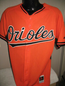 9865c3e68fa Image is loading MLB-Baltimore-Orioles-Authentic-Cool-Base-Jersey-Shirt-