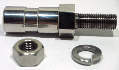 82-3017 TRIUMPH TR25 TANK BOLT SPACER F3017 STAINLESS STEEL