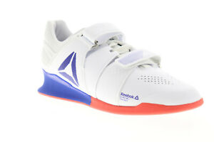 Reebok Legacy Lifter DV6225 Mens White Leather Athletic Weightlifting Shoes