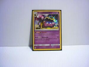 Carte Pokemon Neuve Française Grotadmorv d/'Alola Reverse SL01-58//149