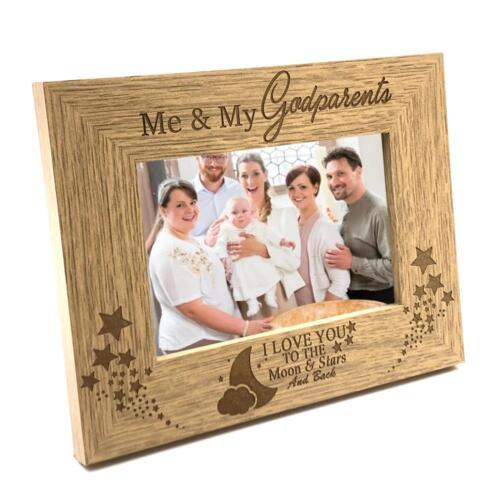 Me and My Godparents Wooden Photo Frame Gift FW232