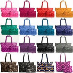 COACH-TOTE-Weekender-XL-PACKABLE-Overnight-Nylon-TRAVEL-Duffel-Getaway-BAG-77316