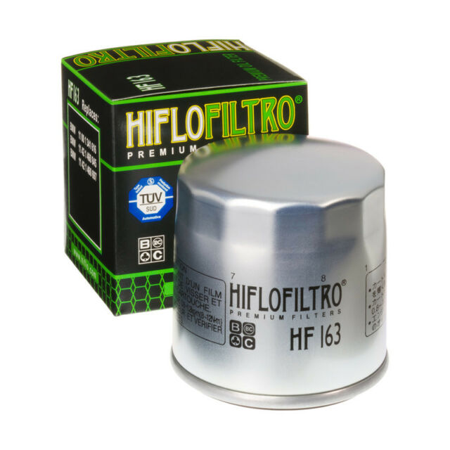 Hiflo HF163 Motorcycle Motorbike Replacement Premium Engine Oil Filter