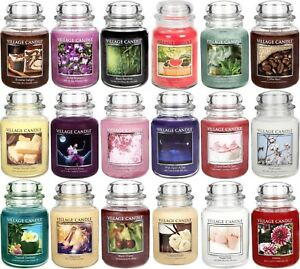 Village-Candle-Large-Jar-26oz-Double-Wick-Scented-Official-Village-Retailer