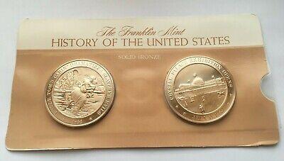 "1852 /""Uncle Tom/'s Cabin/"" Dramitizes Slavery/'s Evils Franklin Mint  Bronze Medal"