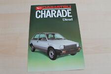 90403) Daihatsu Charade Diesel Prospekt 198?