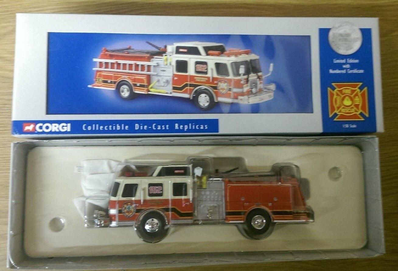 CORGI 54704 E-One Side Mount Shippensburg Fire Department Ltd Edition 0001 4000
