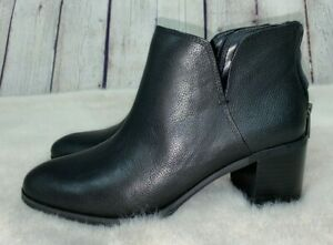 NEW ENZO ANGIOLINI Womens' Black JAINN Short Ankle Boots Booties Size 9