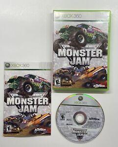 Monster Jam (Microsoft Xbox 360, 2007) COMPLETE!!
