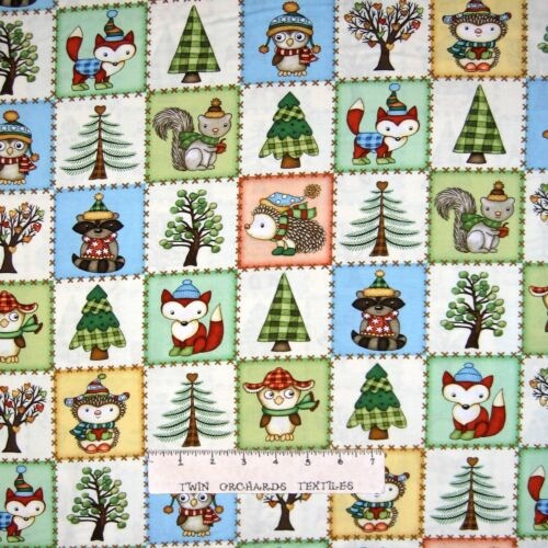 Nursery /& Baby Fabric Henry Glass YARD Hedgehugs Hedgehog Owl Fall Patch