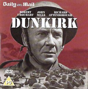 DUNKIRK-John-Mills-Richard-Attenborough-CLASSIC-WAR-PROMO-DVD