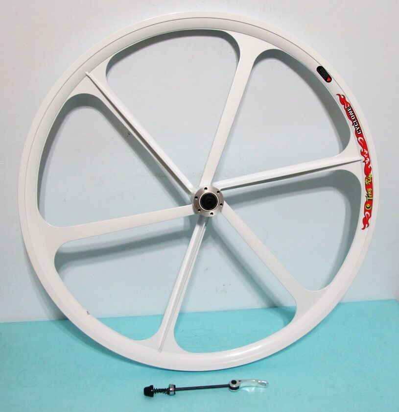 NEW Mag Alloy White 29  8 9 10-gear  MTB FRONT Bike Rim, Disc Brake