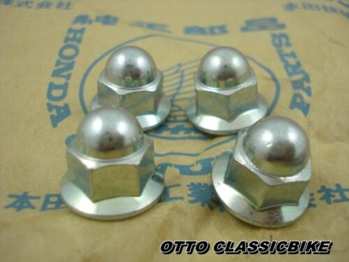 HONDA CB175 CB200 CB250 CB350 CB360 CB450 CB500 CB550 CB750 CB900 NUT CAP 8mm.