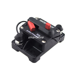 50a manual reset circuit breaker 12v24v boat accessory for for 50 amp circuit breaker for trolling motor