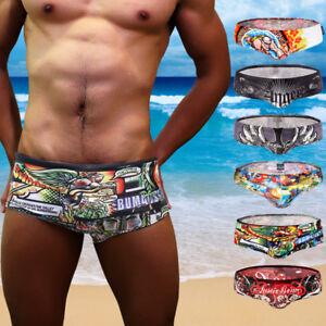 ca38859e13 Cartoon Men's Swimming Briefs Swim Trunks Underwear Beach Pants ...