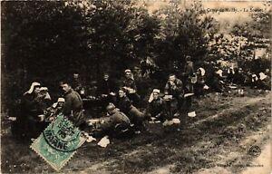 Cpa Militaire - Au Camp De Mailly - La Soupe (695599) Zzj5hob3-07215636-989996142