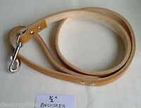 Dl2puppy Special 1/2 X 4' Leash Real Leather Assorted Colors.