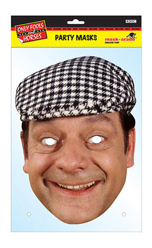 CANC BOY TROTTER ufficiale Only Fools /& Horses 2D TESSERA PARTITO Face Mask Fancy Dress