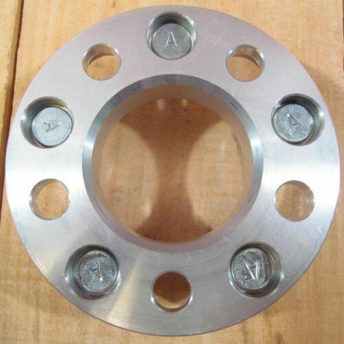 """5x115 to 5x475 Wheel Adapters 1/"""" Thick 12x1.5 Lug Studs Billet Spacers x 2"""