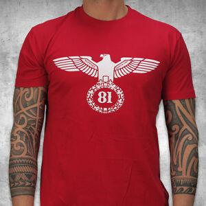 Support 81 T-Shirt Adler Herren S-4XL - HAMC North End   eBay 6718ef3f78