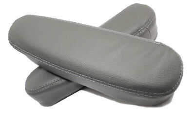 Seat Armrest Covers Synthetic Leather For 07-09 Honda CR-V Black