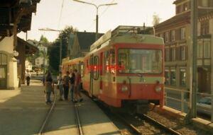 PHOTO-SWITZERLAND-TROGEN-1995-TRAM-21