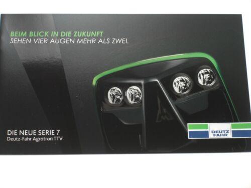 DF 183 DEUTZ-FAHR SERIE 7 AGROTRON TTV Traktoren Prospekt von 07//2012