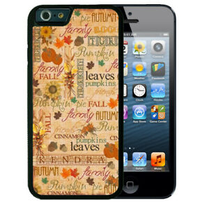 Personalized-Rubber-Case-for-iPhone-Xr-Xs-X-Max-8-7-6-Plus-Fall-Autumn-Pumpkin